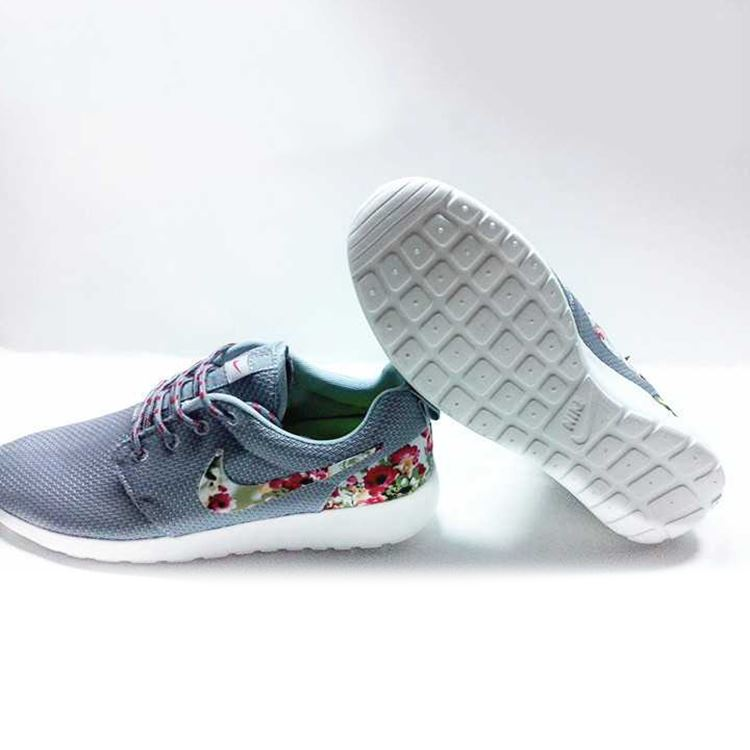 ba4af6c40a1 Your store. Nike Floral Roshe Customized Running Shoes